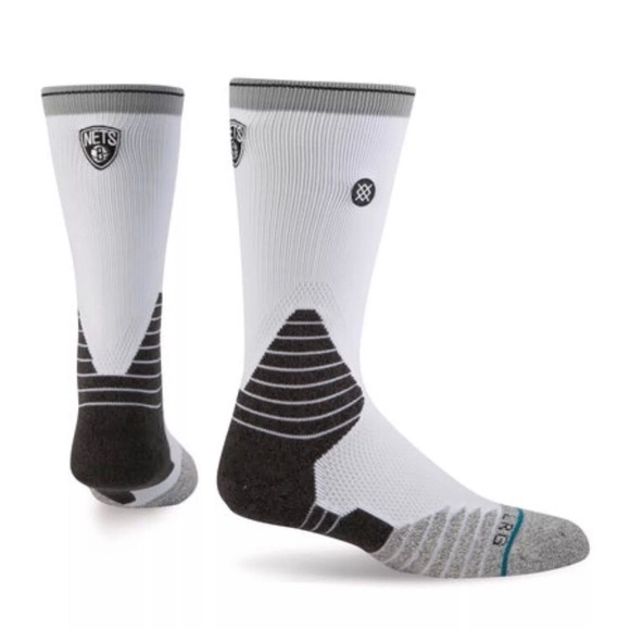 27049a321 Stance Underwear & Socks | 559 Brooklyn Nets Nba Logo Crew Sock Xl ...